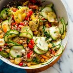 Mediterranean Raw Squash Pasta Salad – Recipes Couscous Salad