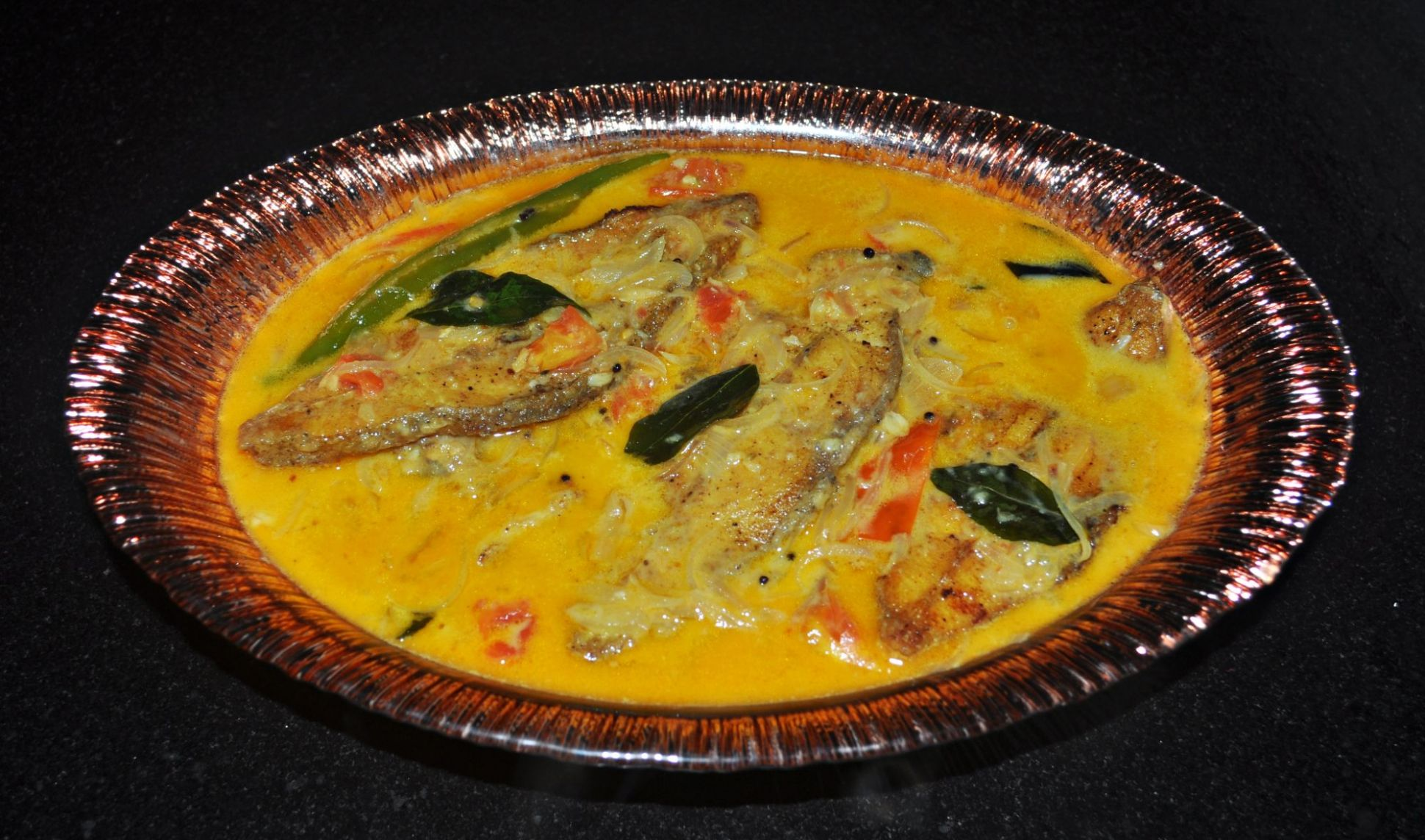 Meen Molee / Fish Molee/ Moilee (Fish Stewed in Coconut Milk) - Recipe Fish Molee
