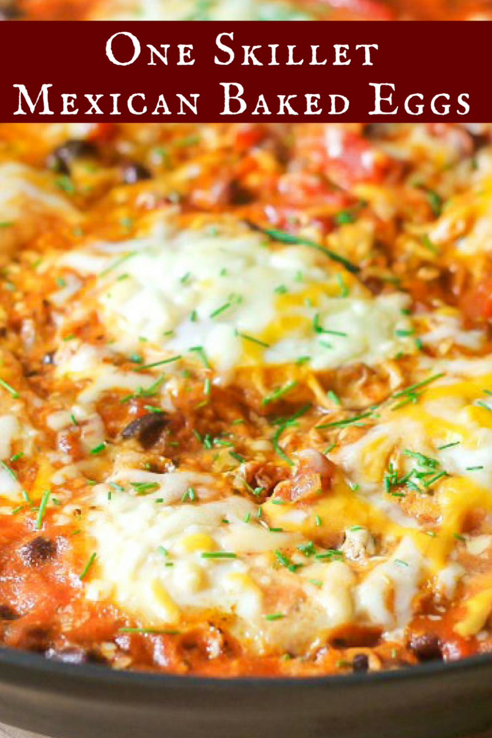 Mexican Baked Eggs (One Skillet) - Egg Recipes Low Calorie