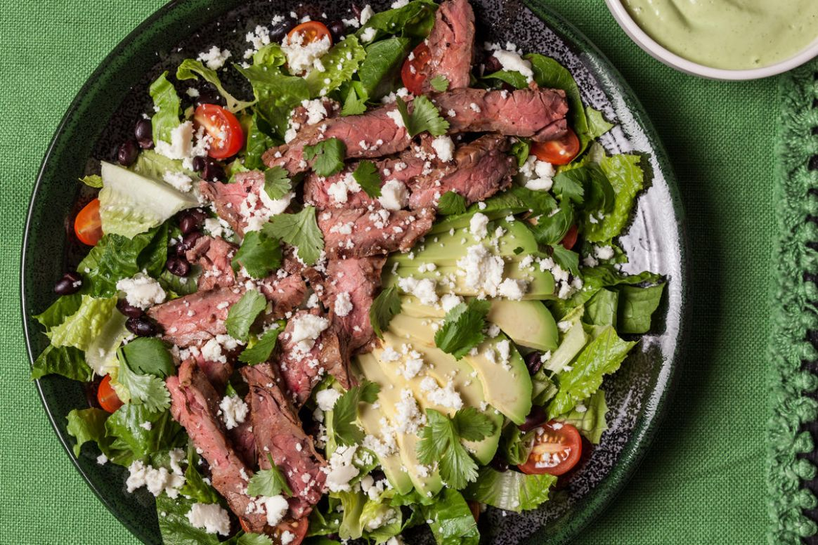 Mexican Grilled Steak Salad - Salad Recipes To Go With Steak