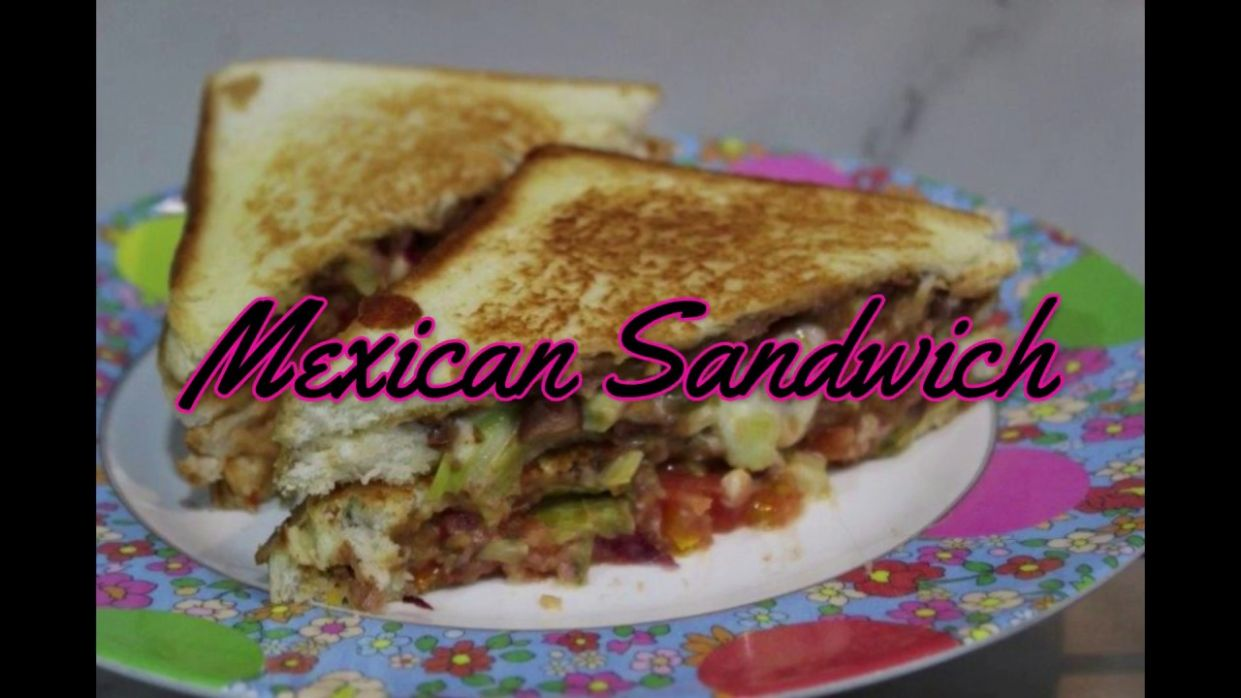 Mexican Sandwich Recipe - Sandwich Recipes Yummy Tummy