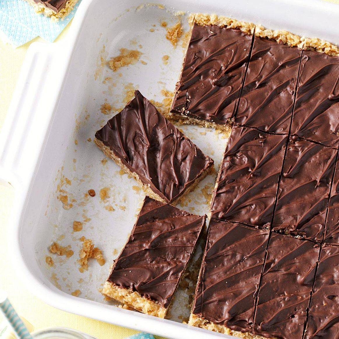 Microwave Oatmeal Bars - Dessert Recipes In Microwave