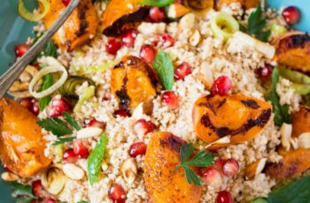 Middle Eastern cauliflower rice salad - Lazy Cat Kitchen