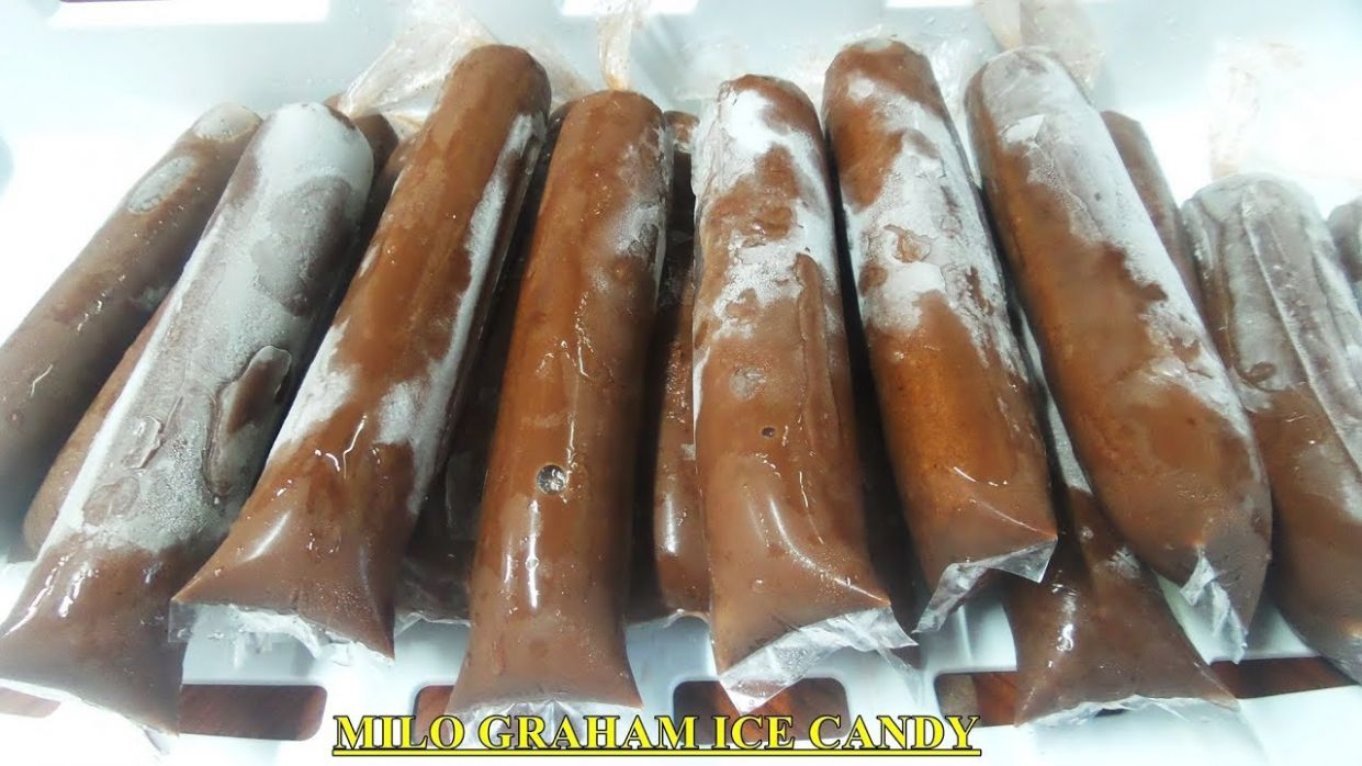 MILO GRAHAM ICE CANDY with Cornstarch Recipe - Recipe Chocolate Ice Candy
