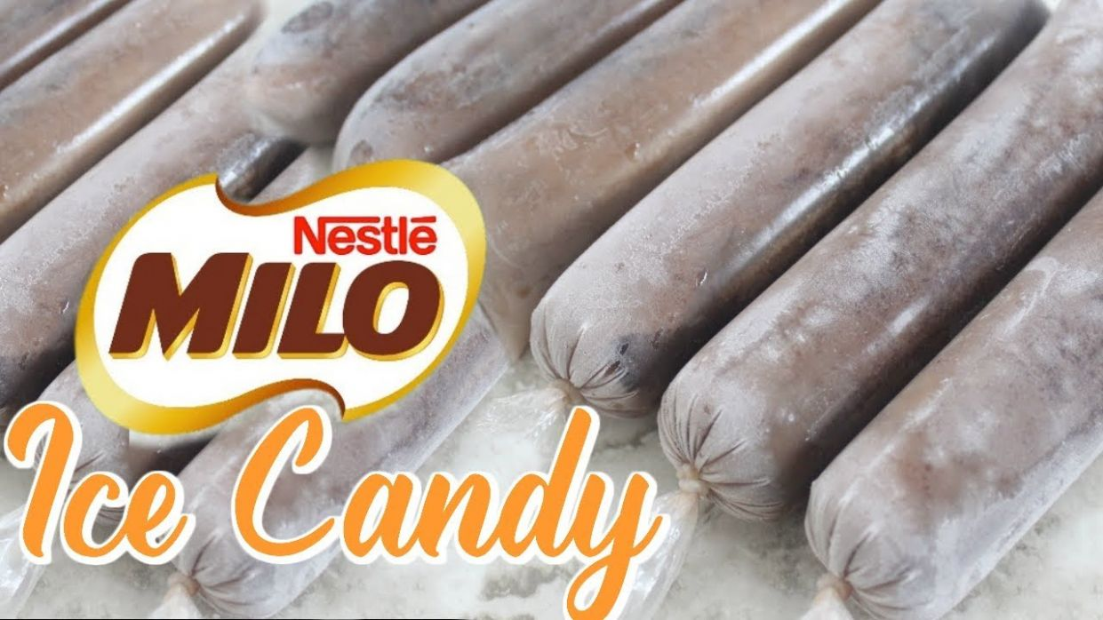 MILO ICE CANDY | HOW TO MAKE ICE CANDY TAGALOG - Recipe Chocolate Ice Candy