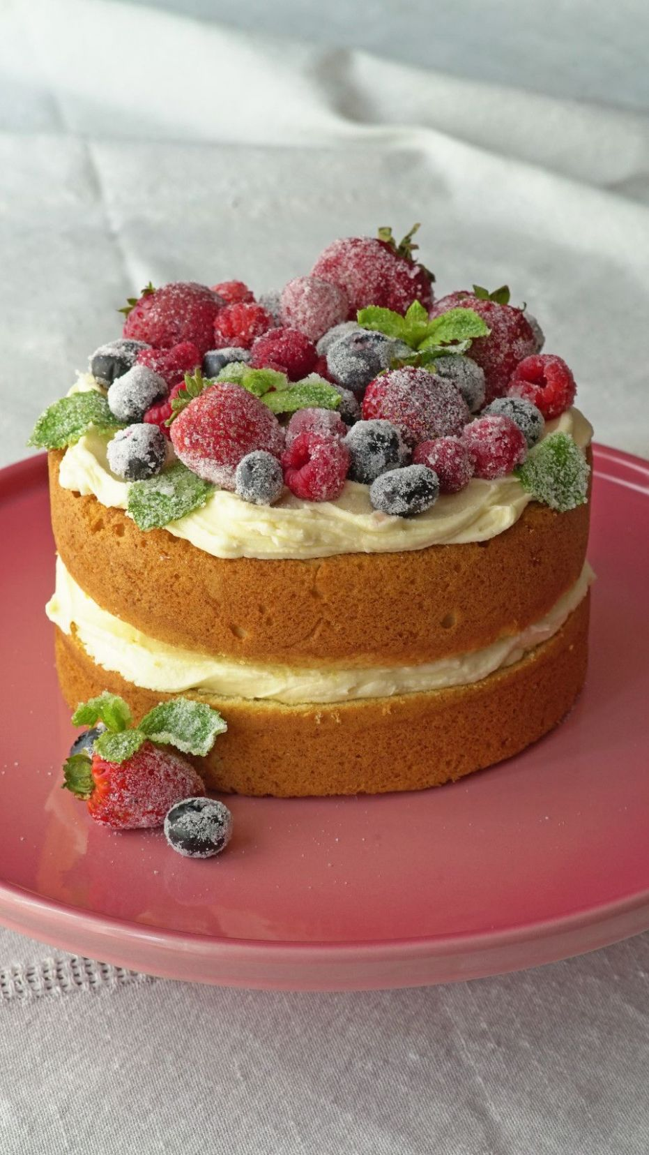 Mini naked cakes - Cake Recipes Pinterest