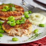 Miso And Lime Salmon Fishcakes With Wasabi Mayo – Recipes Fish Cakes Salmon