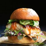 Miso Fish Burger With Pickled Cucumber And Slaw – Recipes Fish Burgers