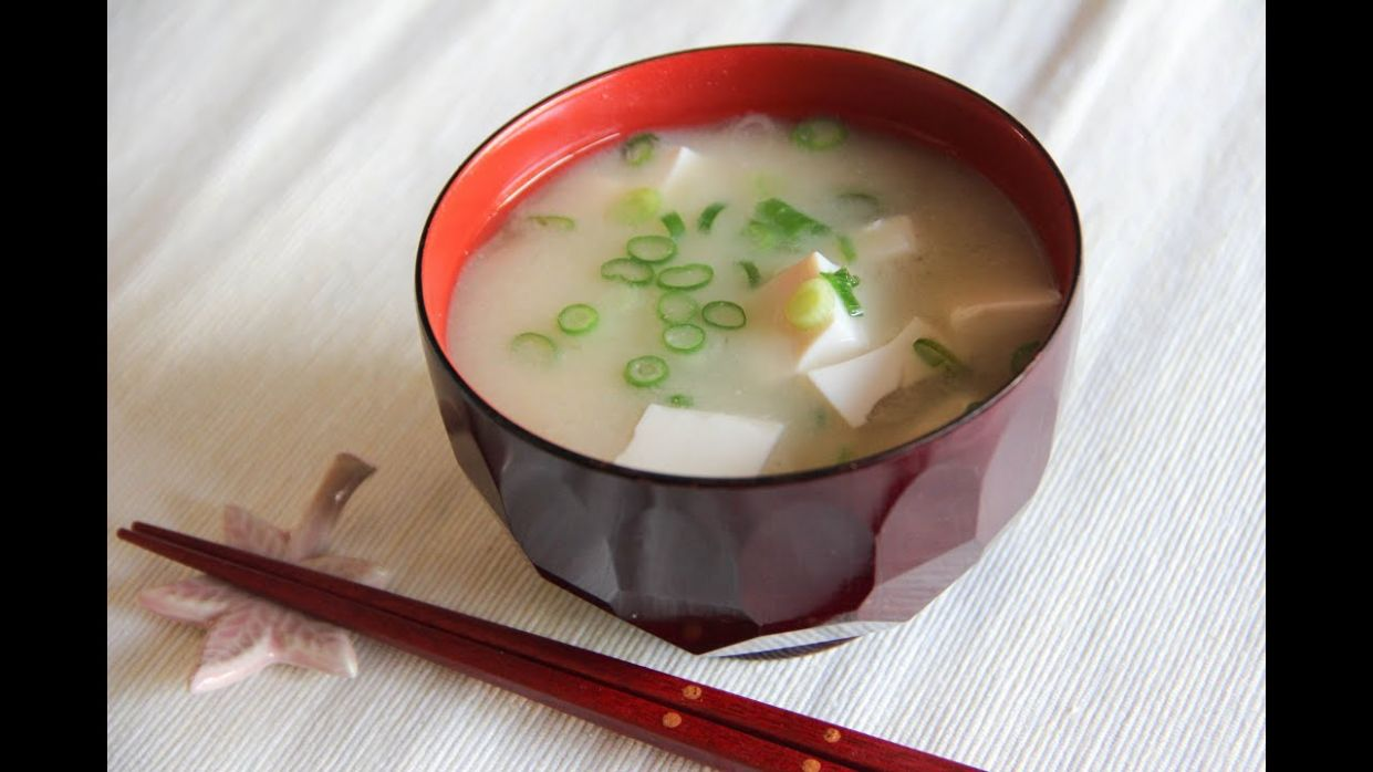 Miso Soup Recipe - Japanese Cooking 12 - Soup Recipes Youtube Video