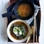 Miso With Soba, Poached Eggs And Spring Onion – Soup Recipes Gourmet Traveller
