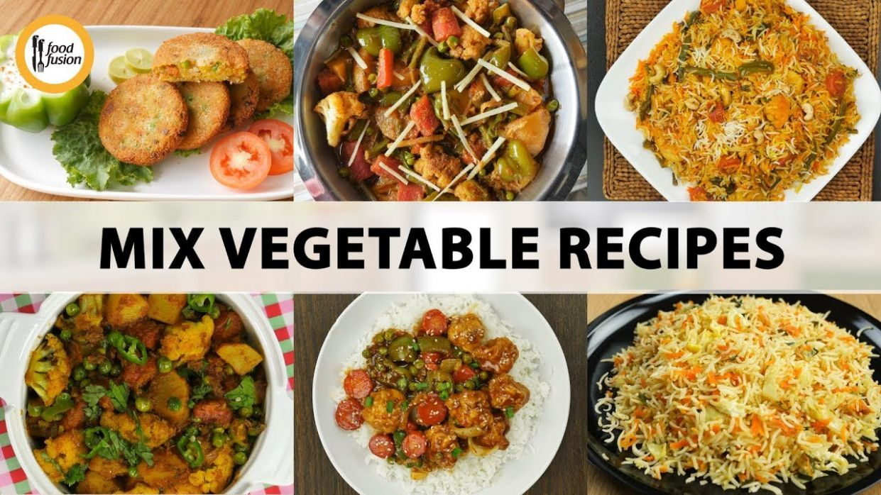 Mix Vegetable Recipes by Food Fusion - Vegetable Recipes By Food Fusion
