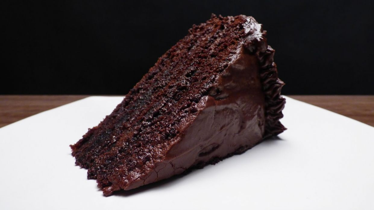 MOIST CHOCOLATE CAKE - Chocolate Recipes Youtube