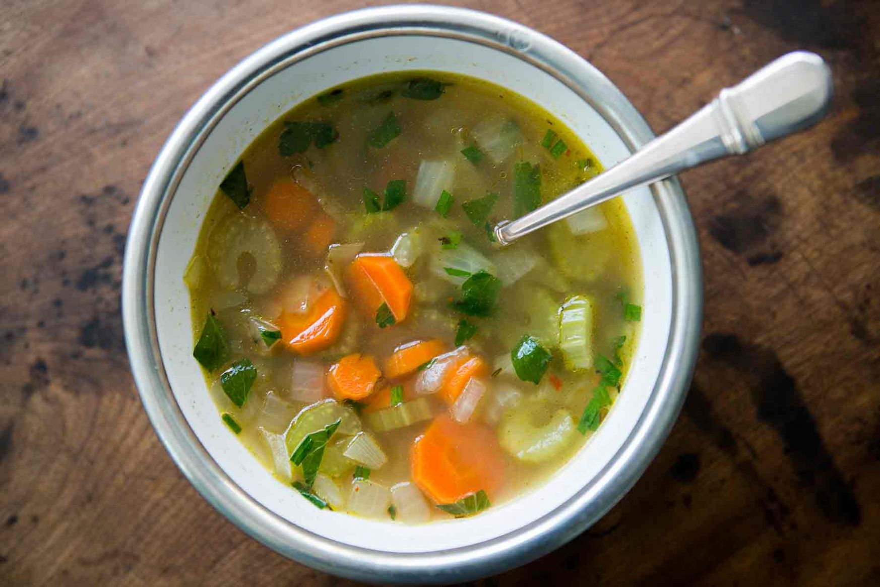 Mom's Cold-Season Chicken Soup - Soup Recipes Using Chicken Stock