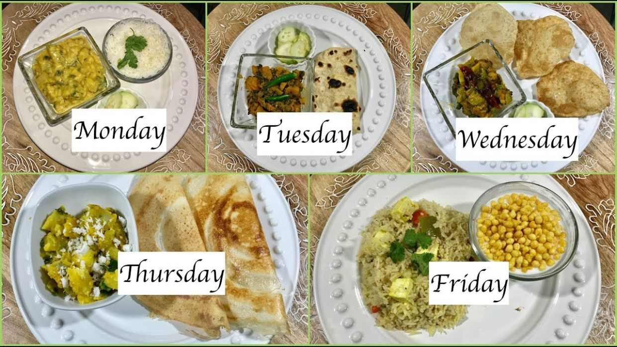 Monday To Friday Indian Summer Dinner Recipes | Quick Dinner Ideas | Simple  Living Wise Thinking - Summer Recipes Easy Dinner