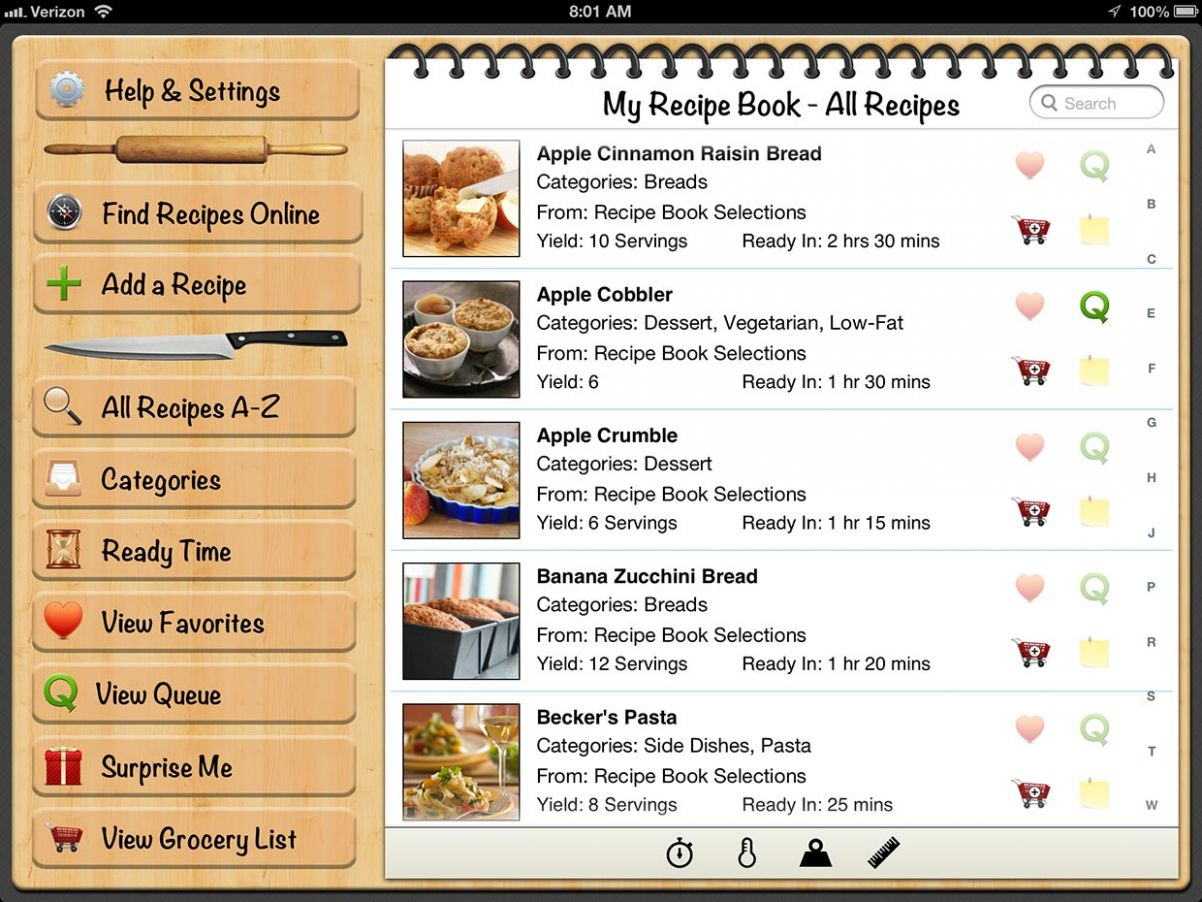 My Recipe Book 8.8 review: keep your cooking recipes synced ..