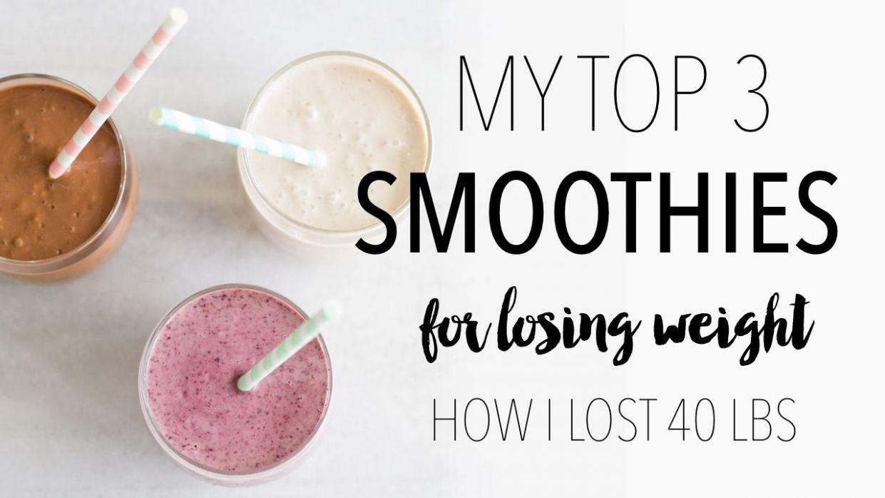 My Top 8 Weight Loss Smoothie Recipes | How I Lost 8 Lbs