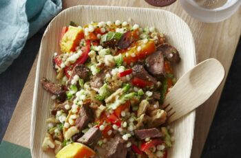 Nadia Lim shares her recipe for a delicious lamb couscous salad ...