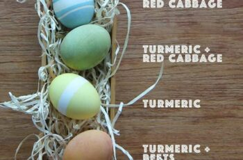 Natural Easter Egg Dyes - Hilah Cooking