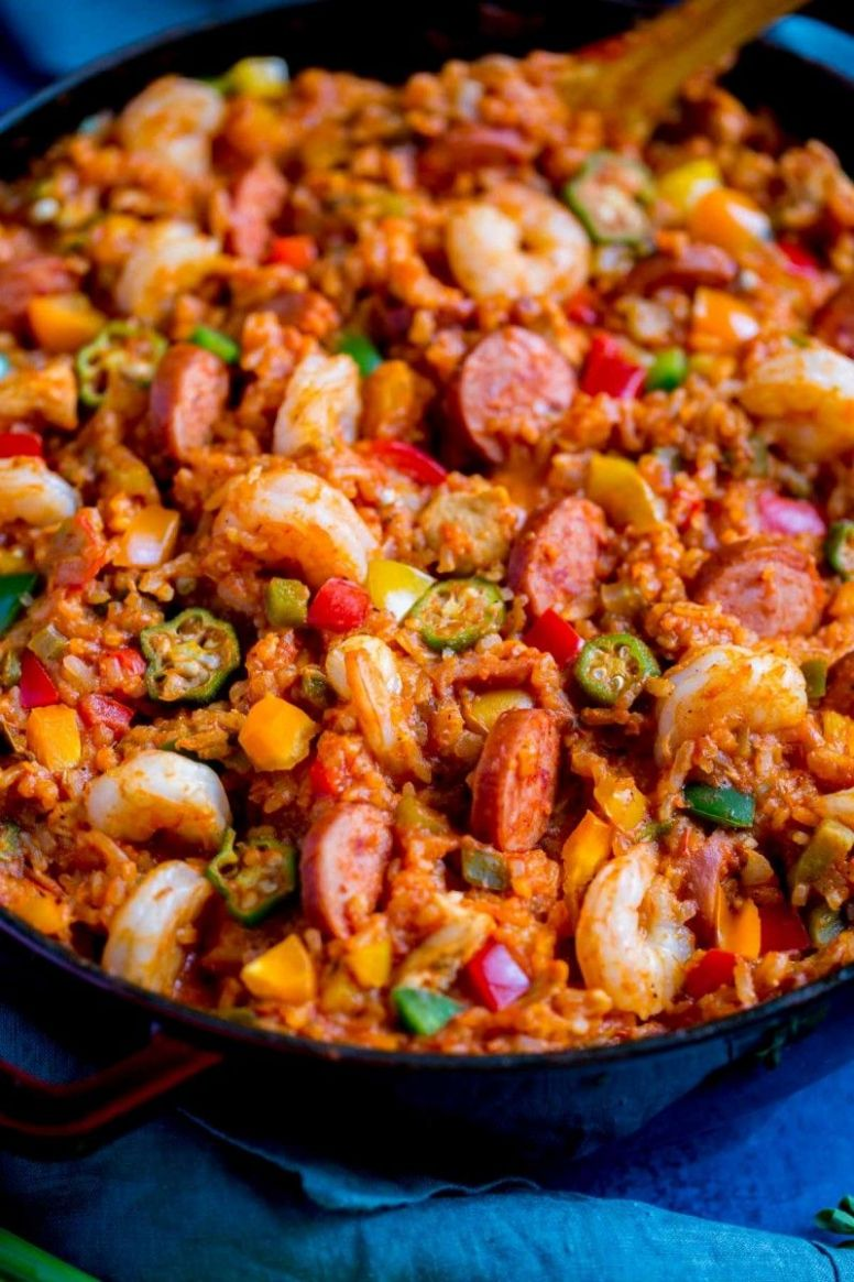 New Orleans Jambalaya - Easy Recipes Jambalaya