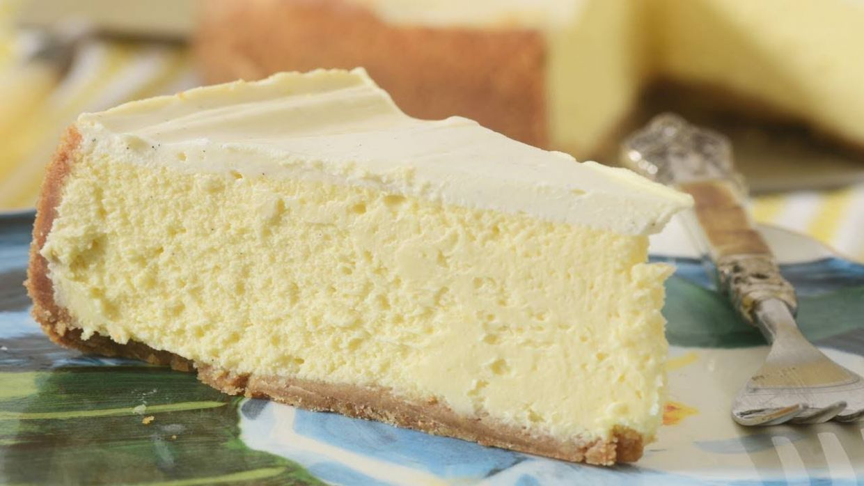 New York Cheesecake Recipe & Video - Simple Recipes New York Cheesecake