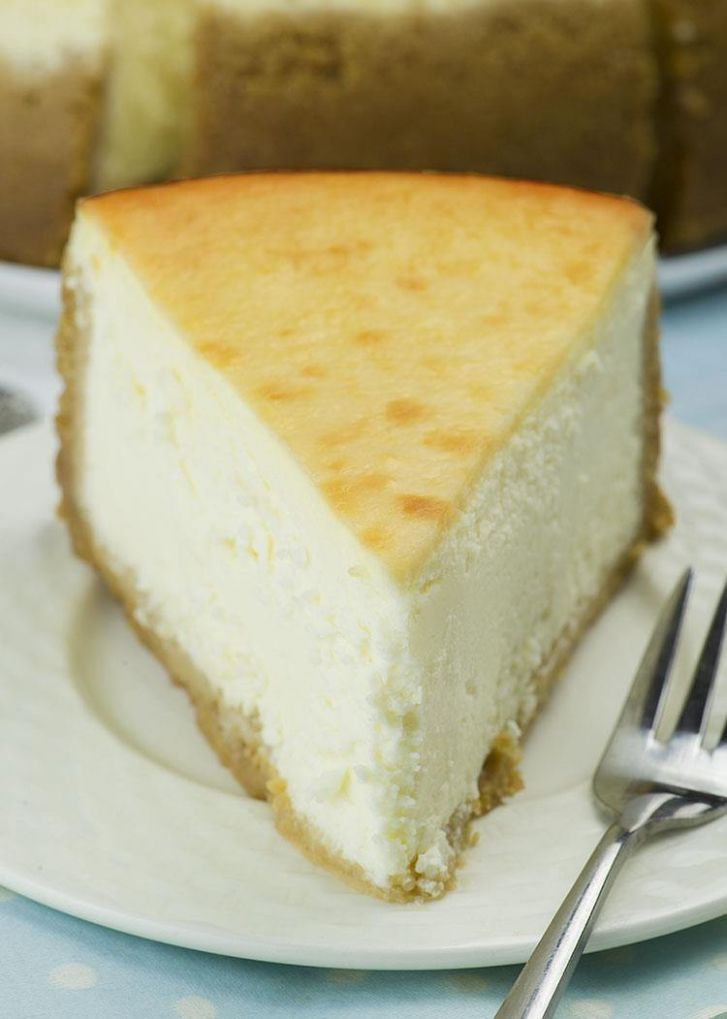 New York Style Cheesecake | Classic Cheesecake Recipe - Simple Recipes New York Cheesecake