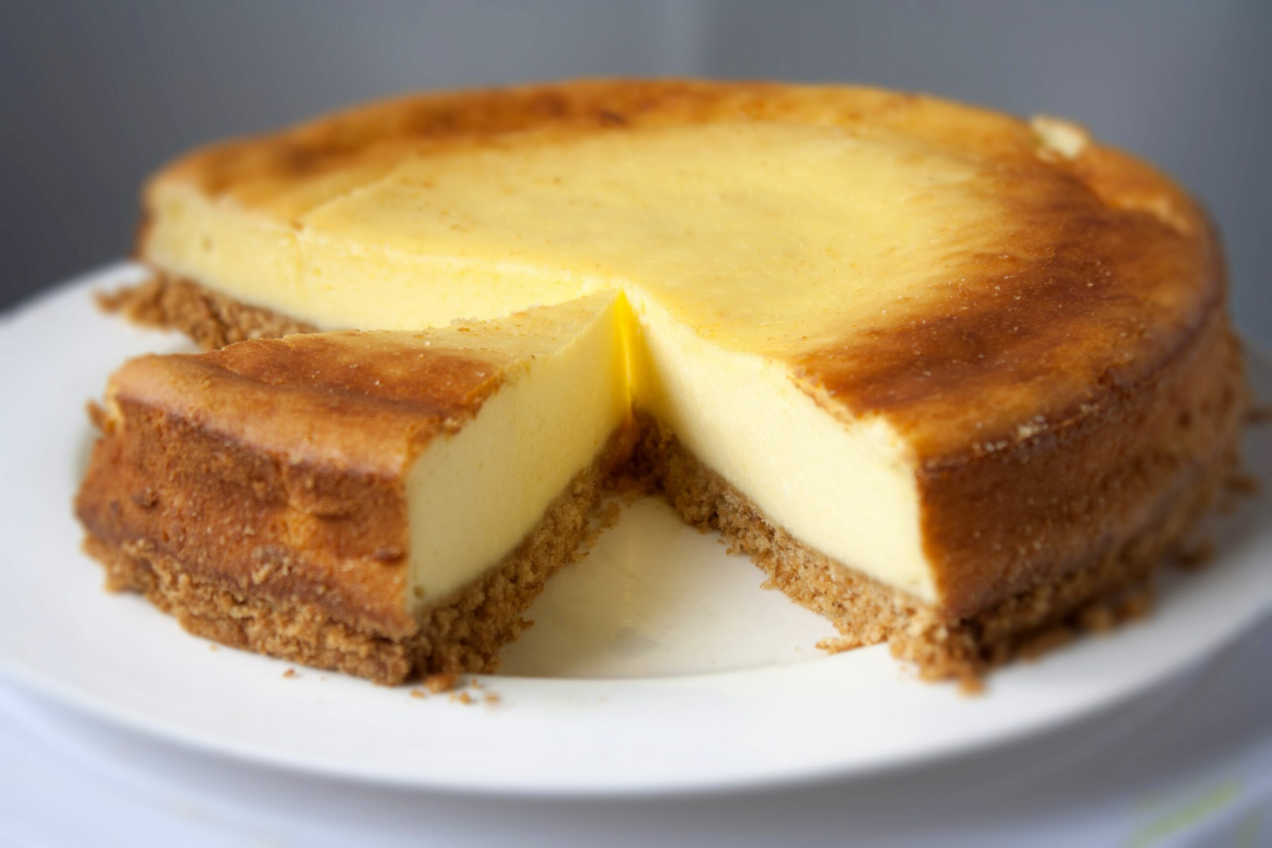 New York Style Cheesecake - Simple Recipes New York Cheesecake