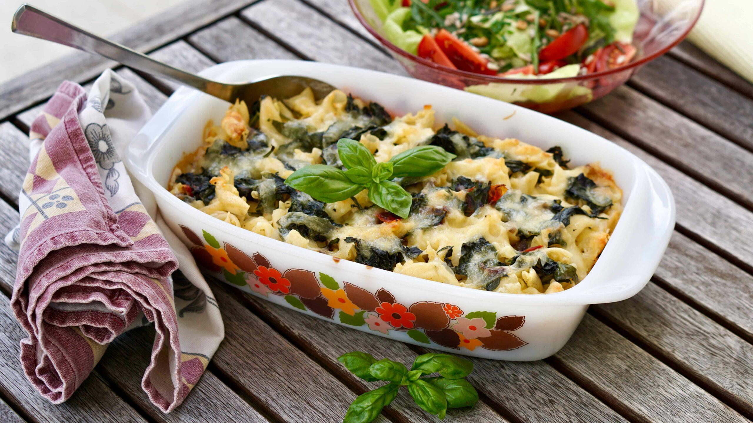 """New Zealand Spinach Gratin – Vegetarian Dish from """"Middle Earth"""" - Vegetable Recipes Nz"""