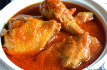 Nigerian Chicken Stew With Roasted Peppers - Sisi Jemimah