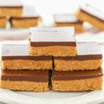 No Bake Chocolate Peanut Butter Bars – Live Well Bake Often – Dessert Recipes Peanut Butter