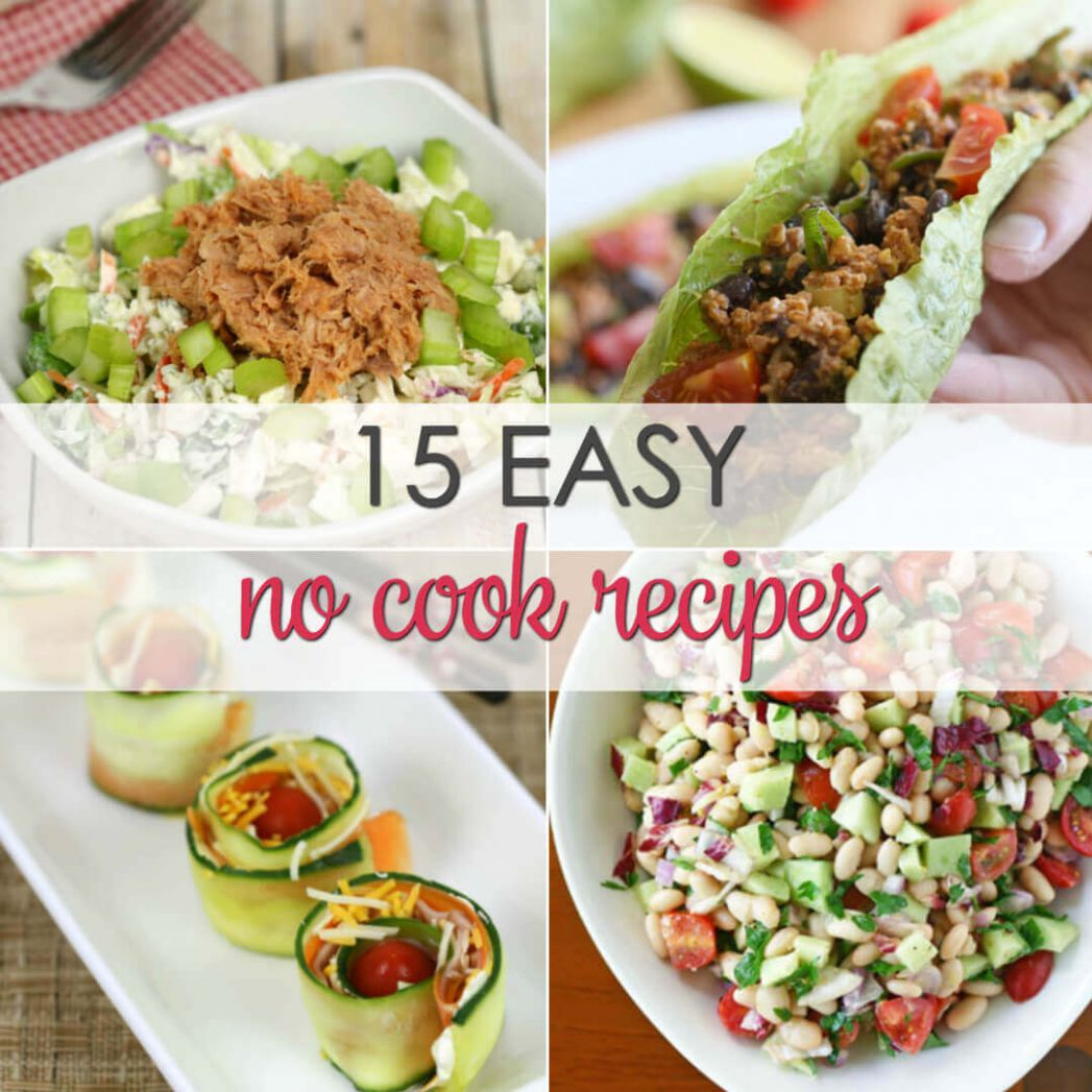 No Cook Dinner Recipes | It Is a Keeper - Recipes No Cooking