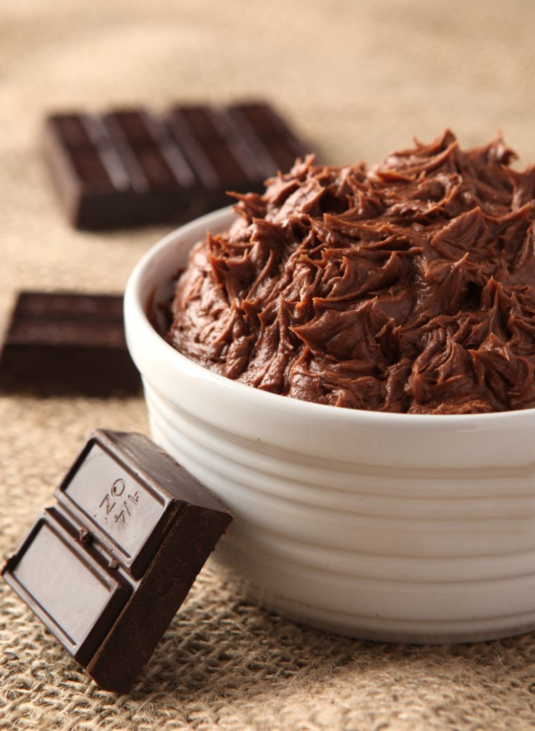 Not Too Sweet Chocolate Buttercream Frosting - Cake Recipes Not Too Sweet