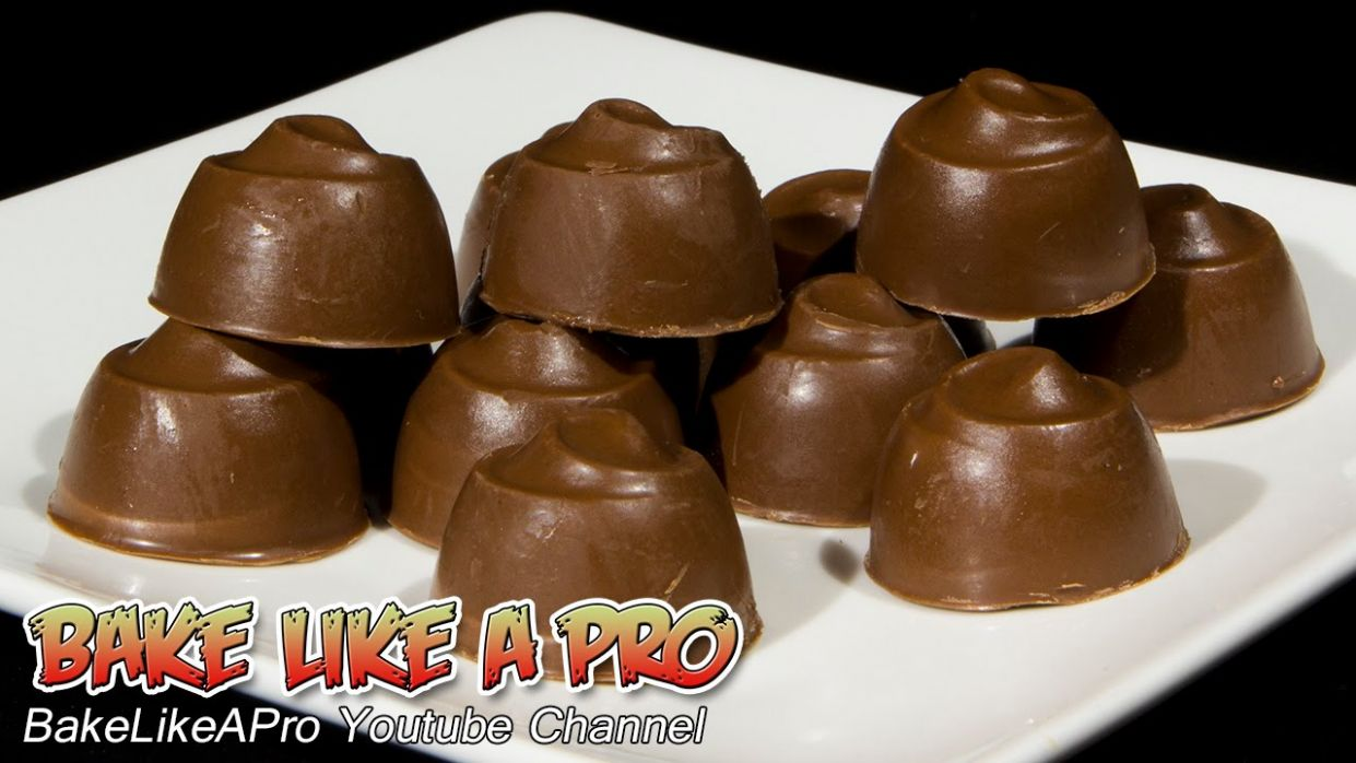 Nutella Filled Milk Chocolates Recipe - Chocolate Recipes Youtube