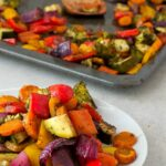 Oil Free Rainbow Roasted Vegetables – Recipes Vegetables Oven