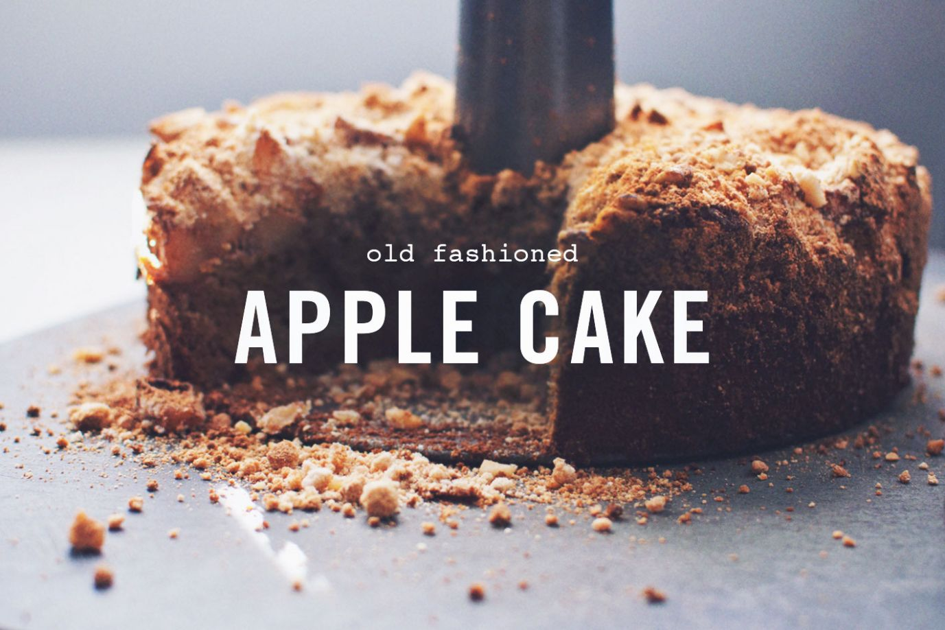 Old Fashioned Apple Cake (gluten-free and dairy-free) - Wake the ..