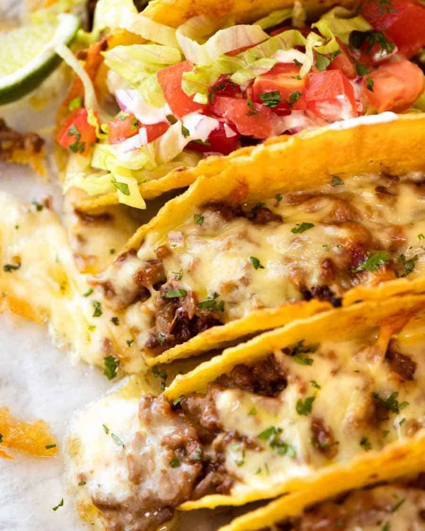 Old School Beef Taco recipe - Recipes Beef Tacos
