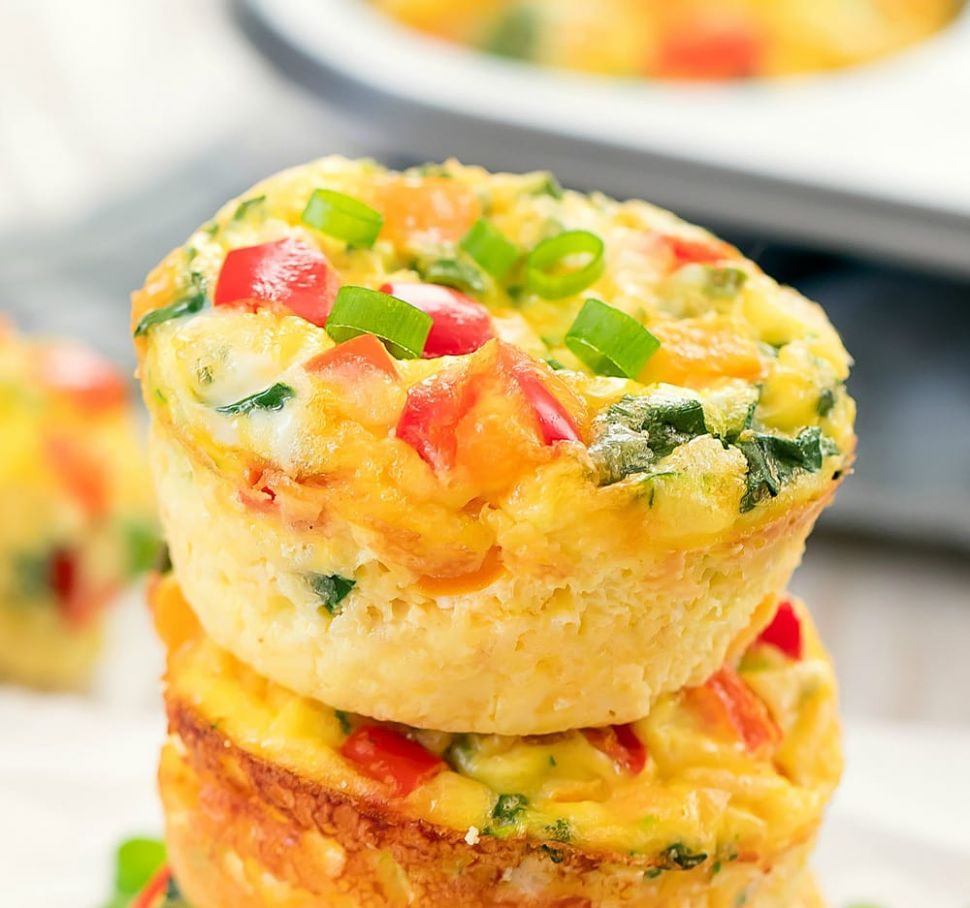 Omelet Muffins - Recipes Egg Cups