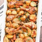 One Pan Baked Chicken Legs And Potatoes – Recipes Potato And Chicken