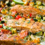 One Pan Baked Salmon And Vegetables – Healthy Recipes Vegetables