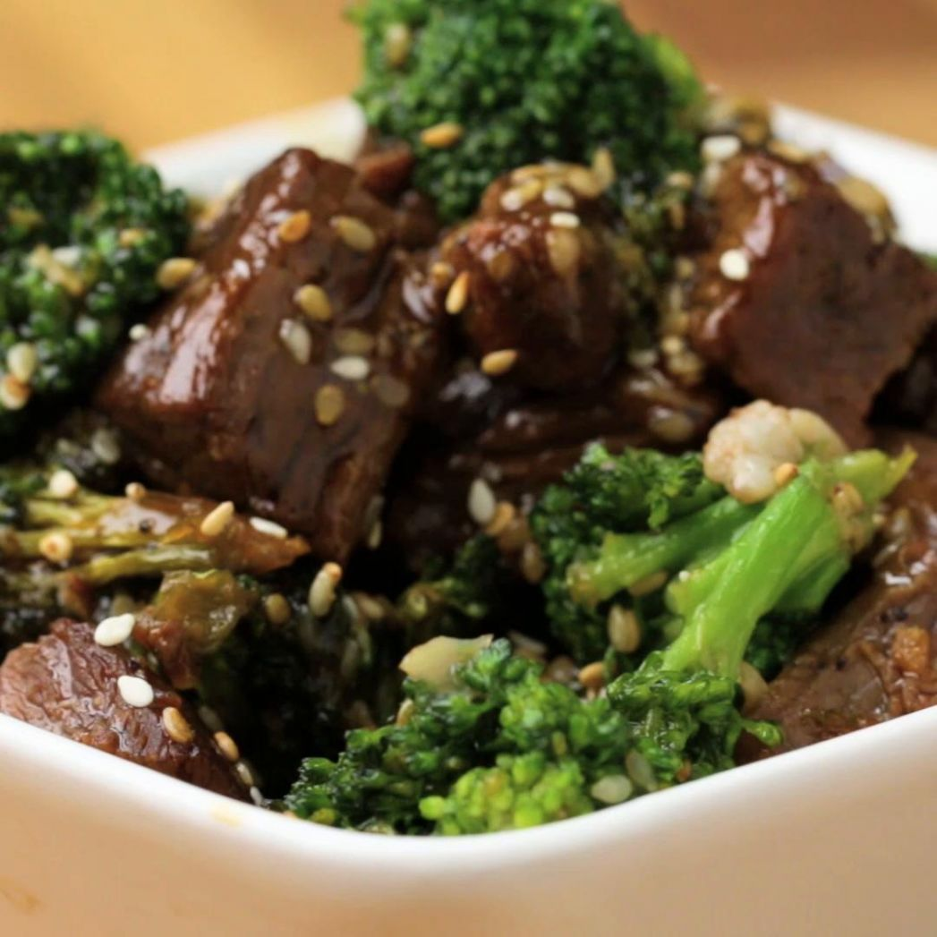 One-Pan Beef And Broccoli Stir-fry Recipe by Tasty - Recipes Beef And Broccoli Stir Fry