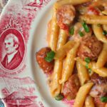 One Pan Cheesy Smoked Sausage & Pasta Recipe – Budget Savvy Diva – Recipes With Summer Sausage And Pasta