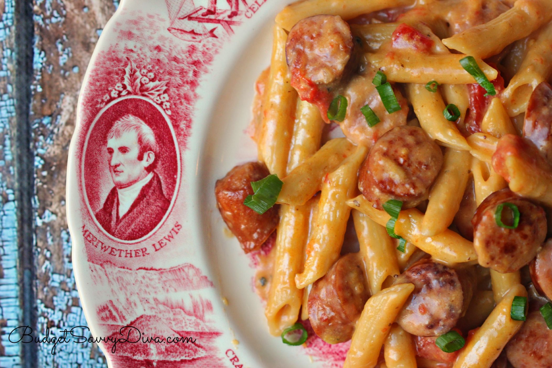 One Pan Cheesy Smoked Sausage & Pasta Recipe - Budget Savvy Diva - Recipes With Summer Sausage And Pasta
