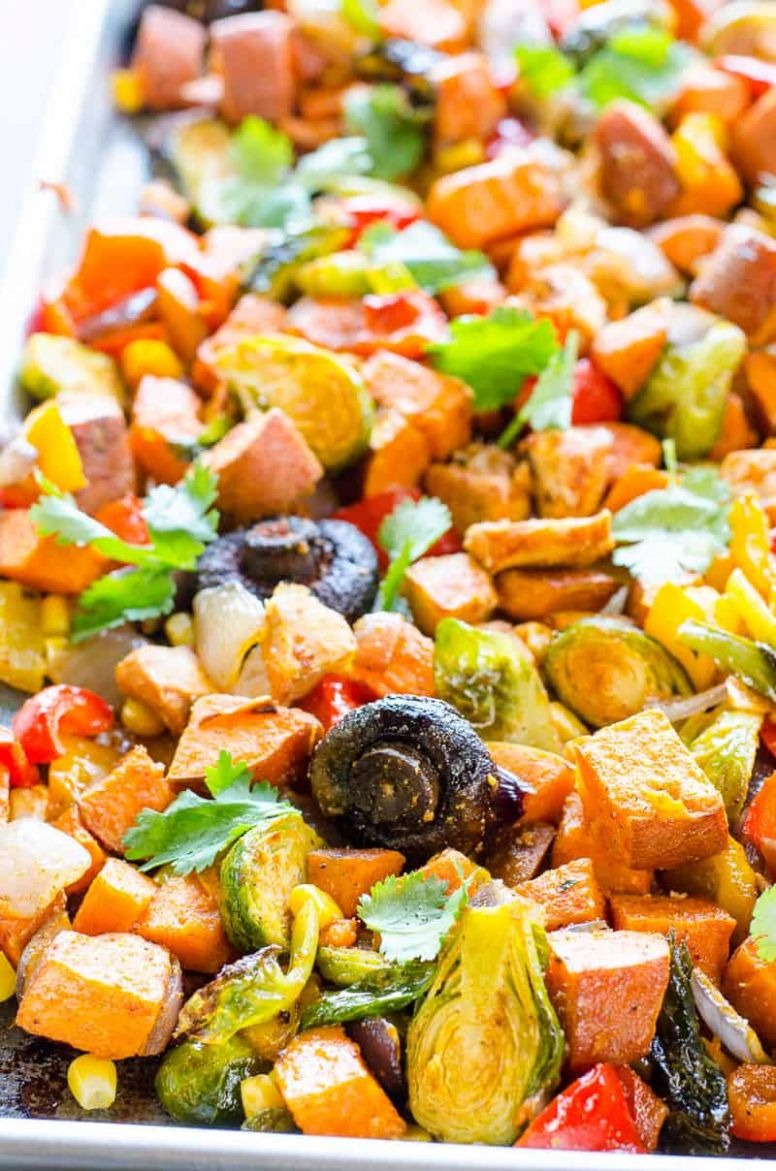 One Pan Chicken and Veggies - Recipes Chicken Vegetables