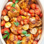 One Pan Paprika Chicken With Potatoes And Tomatoes – Recipes Chicken Tomatoes