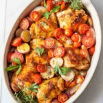 One Pan Paprika Chicken With Potatoes And Tomatoes – Recipes Potato And Chicken