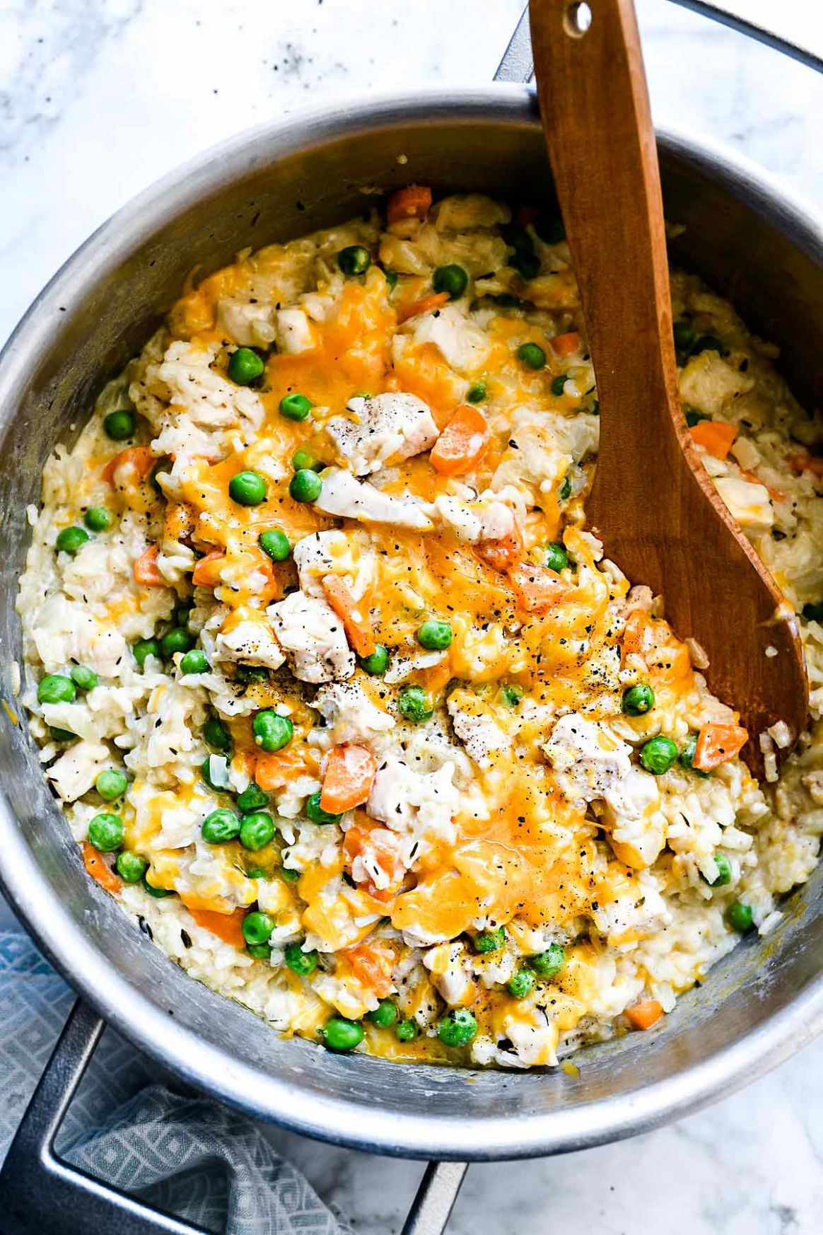 One-Pot Chicken and Rice Casserole - Rice Recipes One Pot