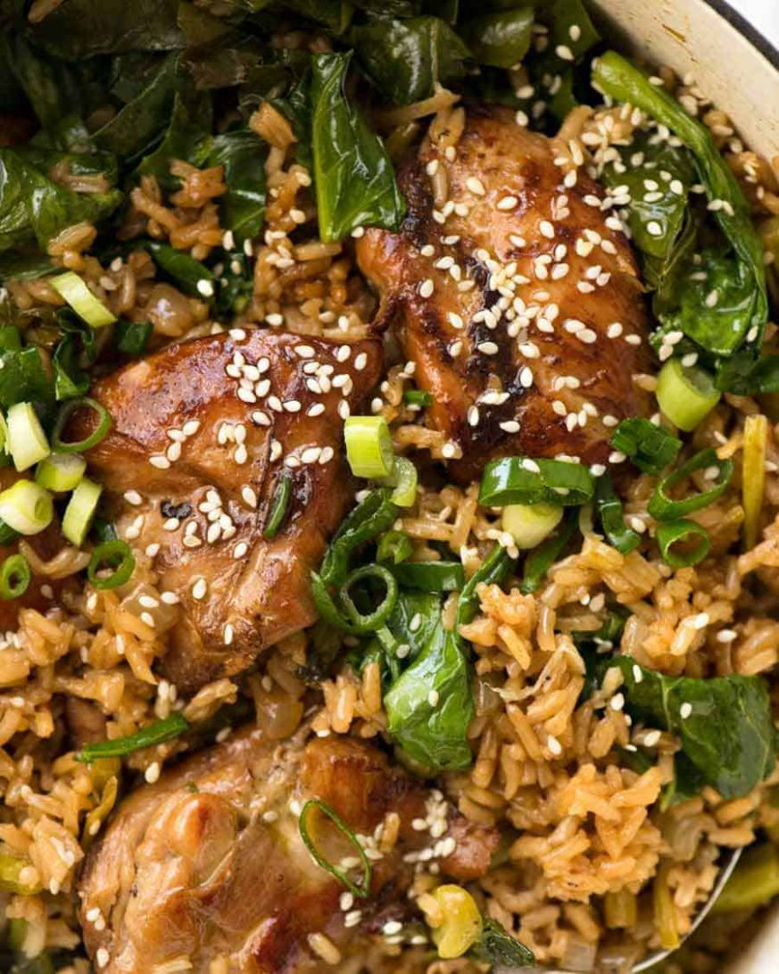 One Pot Chinese Chicken and Rice | RecipeTin Eats - Rice Recipes One Pot