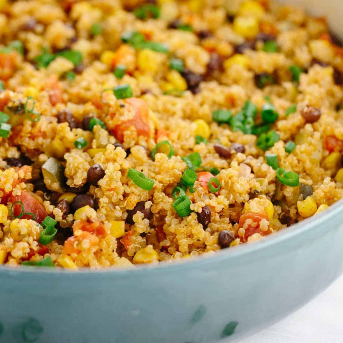 One Pot Mexican Spiced Vegetable Quinoa - Simple Recipes Quinoa