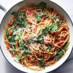 One Pot Pasta With Spinach And Tomatoes – Pasta Recipes Light