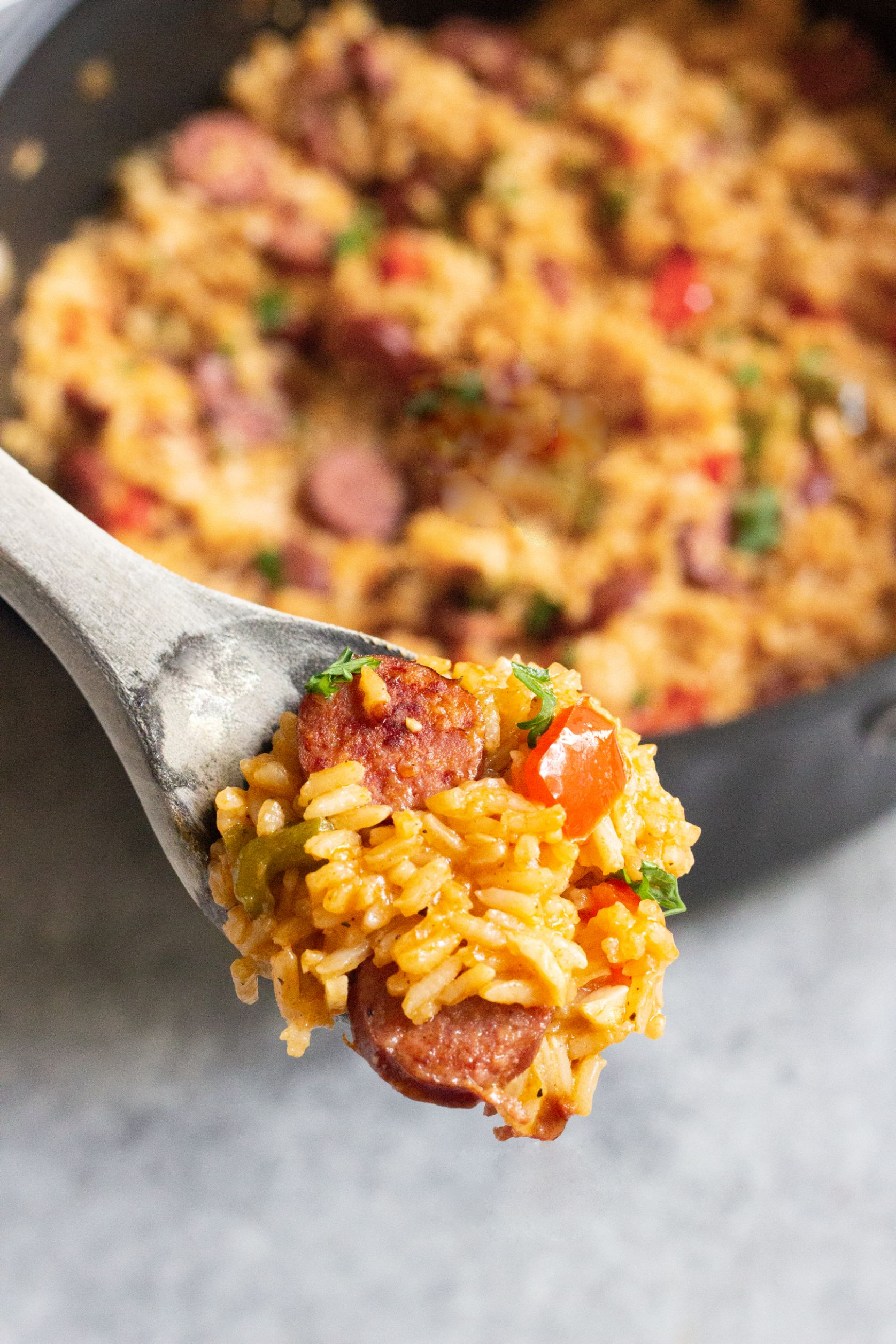 One Pot Sausage Peppers with Rice - Recipes Rice Sausage