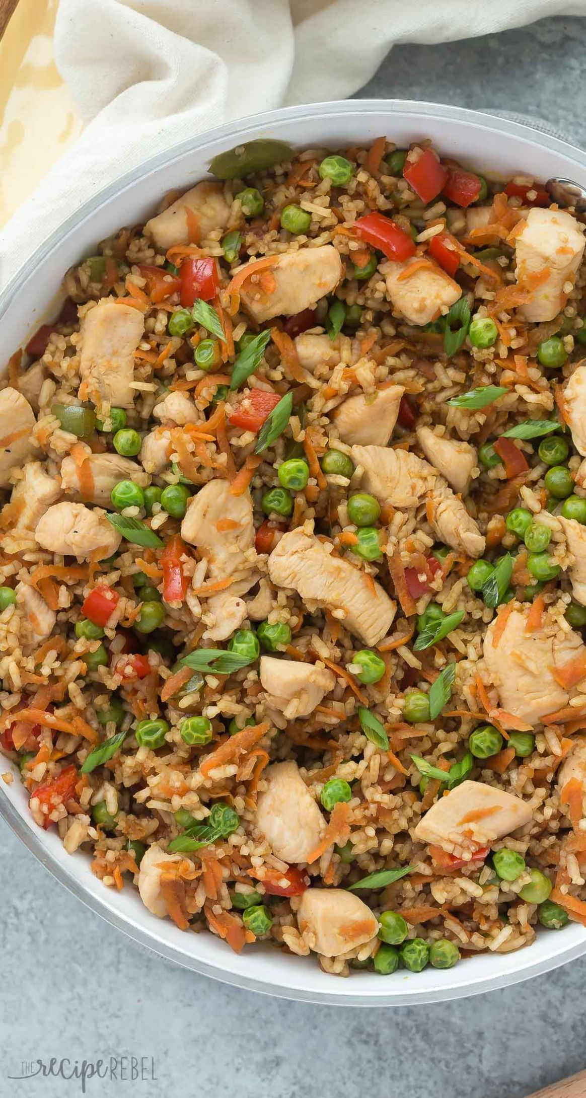 One Pot Teriyaki Chicken, Rice and Vegetables - Rice Recipes One Pot